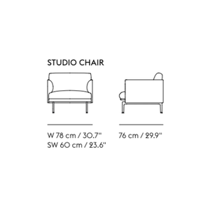 Load image into Gallery viewer, Outline Studio Armchair