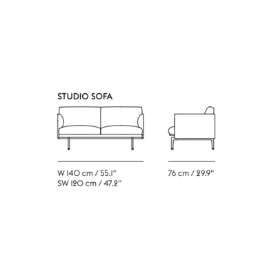 Load image into Gallery viewer, Outline Studio Sofa