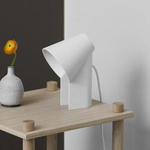 Study Table Lamp White