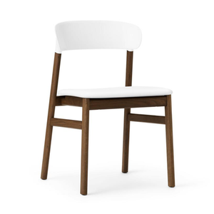 Herit Chair, Smoked Oak, Leather