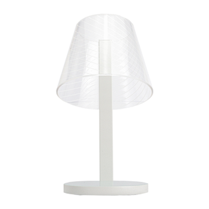 Load image into Gallery viewer, Kong Qi Wireless Charging Lamp, White Twill