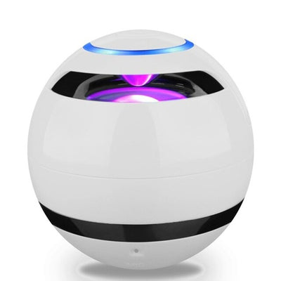 Ball Bluetooth Speaker With LED Light