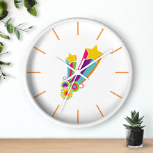 Load image into Gallery viewer, Flower Power Hippie Wall clock