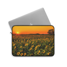 Load image into Gallery viewer, Laptop Sleeve | Computer Case | Sunflower Fields, Electronic Case | Computer Accessory Case, Computer Sleeve