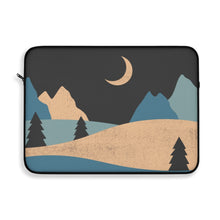 Load image into Gallery viewer, Laptop Sleeve | Computer Case | Night Sky Electronic Case | Computer Accessory Case Desert Computer Sleeve