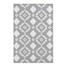 Load image into Gallery viewer, Southwestern Area Rug, Shades of Gray