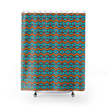 Load image into Gallery viewer, Southwestern Shower Curtain, Bathroom Decor