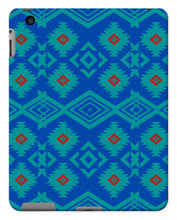 Load image into Gallery viewer, Blue Aztec Tablet Cases