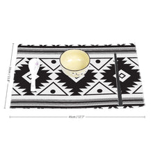 Load image into Gallery viewer, Four-piece Placemats, Southwest Design