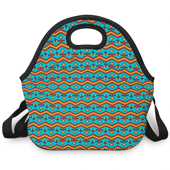 Southwest Insulated Lunch Bag with Straps