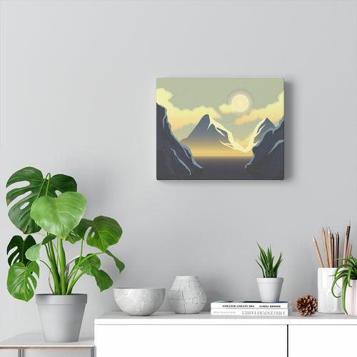 Scenic Wall Decor | Mountain Wall Art Canvas Wall Art Home Decor