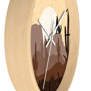 Wall Clock, Wolf Mountain Sunrise