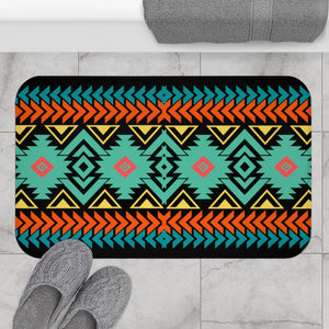 Bath Mat, Southwestern, Shower Mat, Boho Bath Mat