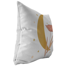 Load image into Gallery viewer, Accent Pillow, Moon Flower Throw Pillow