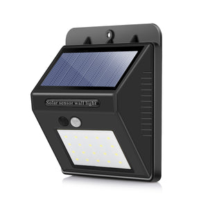 Waterproof LED Solar Motion Sensor Wall Light