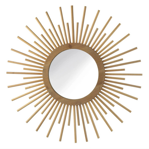 Mirror, Nila Sunburst Mirror, Wall Mirror