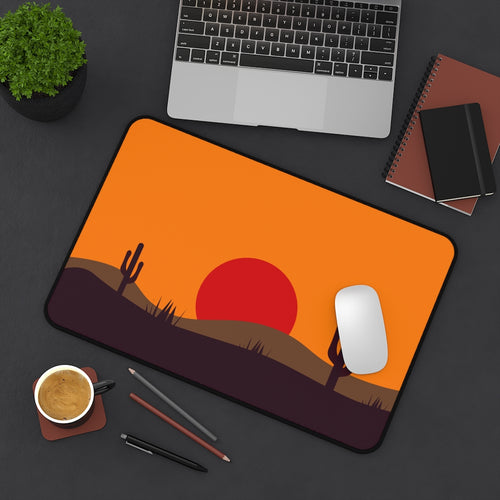 Desk Mat, Office Accessories, Midwest, Desert Decor, Office Decor, Computer Accessories