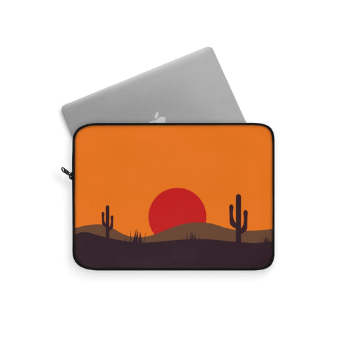 Laptop Sleeve | Computer Case | Midwest Electronic Case | Computer Accessory Case Desert Computer Sleeve