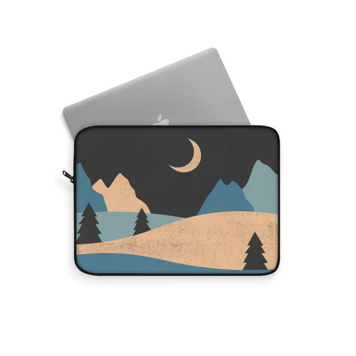Laptop Sleeve | Computer Case | Night Sky Electronic Case | Computer Accessory Case Desert Computer Sleeve