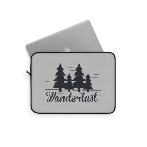 Laptop Sleeve | Computer Case | Wanderlust Electronic Case | Computer Accessory Case Mountain Computer Sleeve