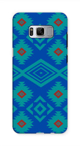 Blue Aztec Phone Case