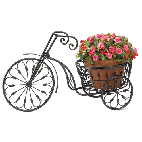 Plant Stand, Outdoor, Garden, Bicycle Plant Stand