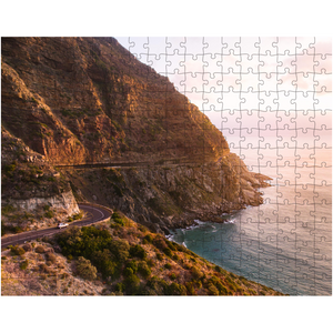 Jigsaw Puzzle, Ocean Mountain Puzzle, Scenic Puzzle, Gifts, Outdoors