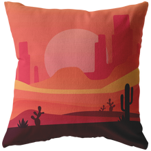 Load image into Gallery viewer, Desert Scene Accent Pillow
