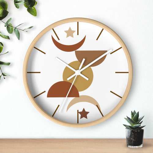 Wall Clock, Clocks, Desert, Organic Theme, Wooden Clock, Time, Wall Decor, Midwest, Wood, Plexiglass, Decor, Home Decor, Gifts