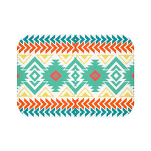 Load image into Gallery viewer, Bath Mat, Southwestern, Shower Mat, Boho Bath Mat