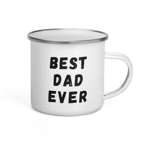Father's Day Mug | Campfire Enamel Mug | Fathers Day Gift | Dad Birthday, Gift for Him