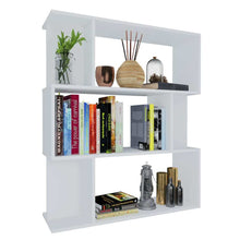 Load image into Gallery viewer, Book Cabinet/Room Divider White Bookshelf