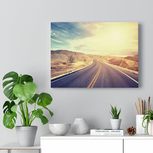 Canvas, Desert Road, Wall Art Canvas, Home Decor, Wall Decor, Midwest