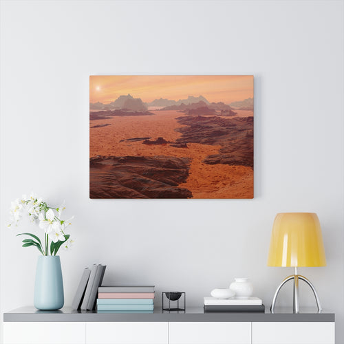 Midwestern Scenic Canvas Wall Art