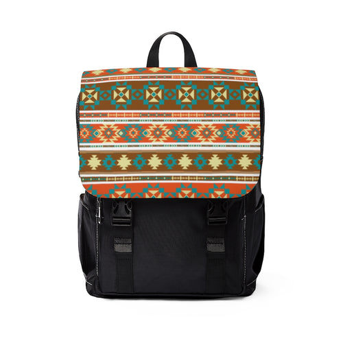 Backpack | Aztec Print, Southwest, School, Bag, Unisex Casual Shoulder Backpack