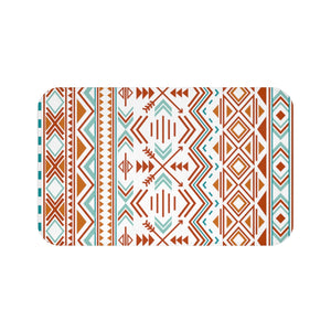 Bath Mat Southwestern Boho Bath Mat for Bathroom