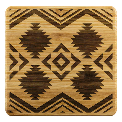 Coasters, 4 Pcs, Wooden Coasters, Southwestern Coasters, Gifts, Christmas Gift