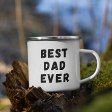 Load image into Gallery viewer, Father's Day Mug | Campfire Enamel Mug | Fathers Day Gift | Dad Birthday, Gift for Him
