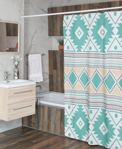 Shower Curtain, Southwestern, Bathroom Decor