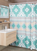 Load image into Gallery viewer, Shower Curtain, Southwestern, Bathroom Decor