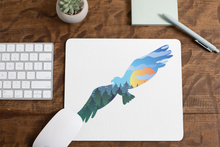 Load image into Gallery viewer, Mouse Pad Flying Eagle Mountain Scene, Horizontal
