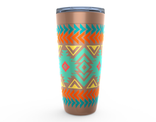 Load image into Gallery viewer, Travel Mug, Southwestern Tumbler, Aztec Tumblers
