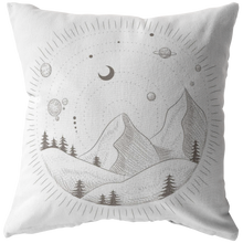 Load image into Gallery viewer, Accent Pillow, Space Mountain