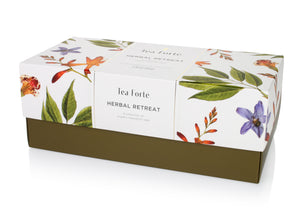 Presentation Box Herbal Retreat (Buy One, Free One Cranberry Red Cafe Cup)