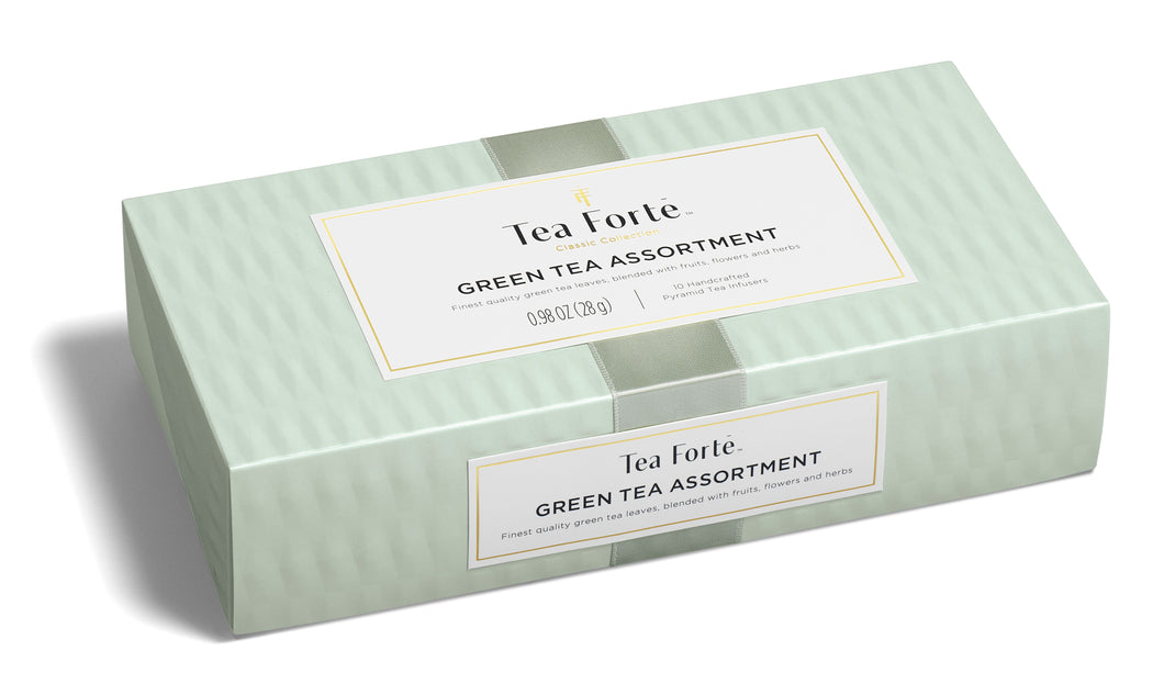 Petite Presentation Box Green Tea Assortment