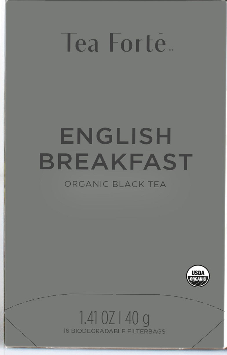 Last Chance - Forte Filterbag Organic English Breakfast