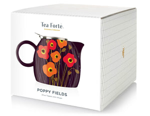 PUGG Teapot Poppy Fields