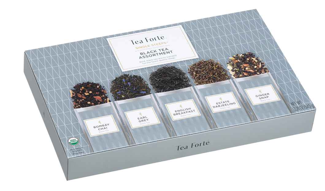 Single Steeps Black Tea Assortment