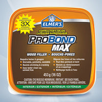 Elmers Pro Bond Wood Filler 16oz