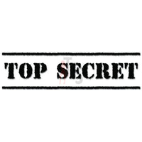 Top Secret Military Mission Decal Sticker Style 2